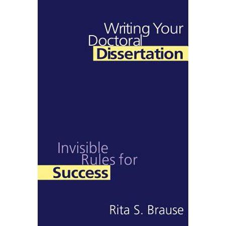 How to write a dissertation in 3 days